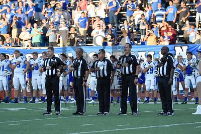 Mules def. Unicorns 39-17 in season opener at Alamo Heights Stadium on Friday August 26, 2016 in San Antonio, Texas. Gallery:http://smu.gs/2bU0rd5 (SASports.com/ Andrew Patterson)