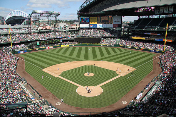 BASEBALL PARKS - SAFECO FIELD - SEATTLE MARINERS