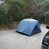 The campsites offer good privacy.