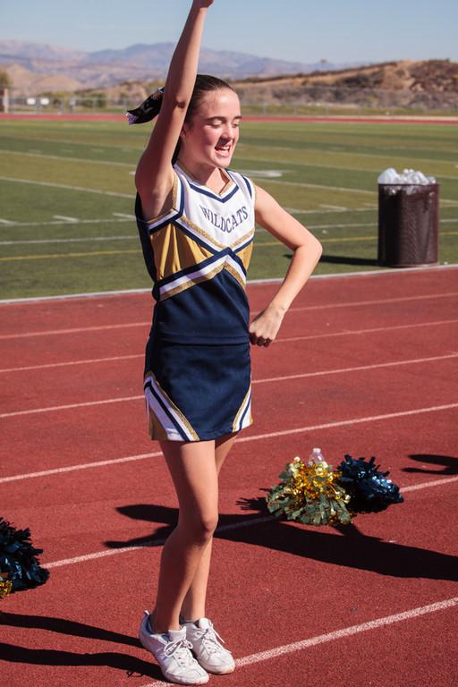 SC Wildcats Cheer Nov. 3, 2012