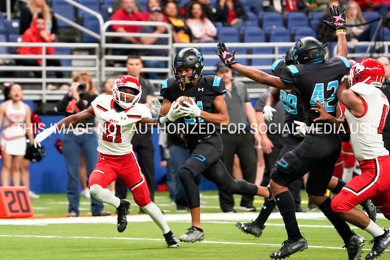 T Davis interception runback