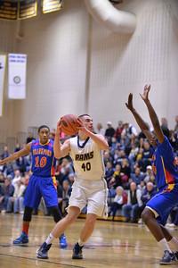 Springford Boys Basketball v Frankford
