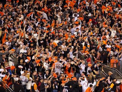 • Torture 10  Giants vs Rangers - World Series Game #1 October 27, 2010 - AT&T Park, San Francisco, CA