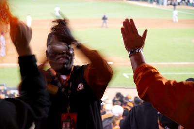 • I like Ike  Giants vs Rangers - World Series Game #1 October 27, 2010 - AT&T Park, San Francisco, CA