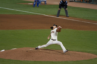 • Timmy (2)  Giants vs Rangers - World Series Game #1 October 27, 2010 - AT&T Park, San Francisco, CA