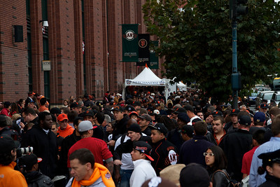 • Outside AT&T before game 1  Giants vs Rangers - World Series Game #1 October 27, 2010 - AT&T Park, San Francisco, CA
