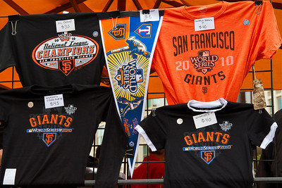 • Souvenirs  Giants vs Rangers - World Series Game #1 October 27, 2010 - AT&T Park, San Francisco, CA