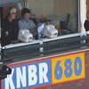"Broadcasting legend Mike Krukow (""Grab some pine, meat!"") and Dave Fleming calling the game for KNBR."