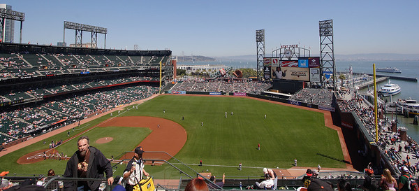 View Reserved 305.  Free tickets for a Saturday game.  Lincecum would eventually lose, 1-0.