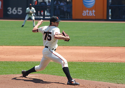 Zito poised to fire a strike.