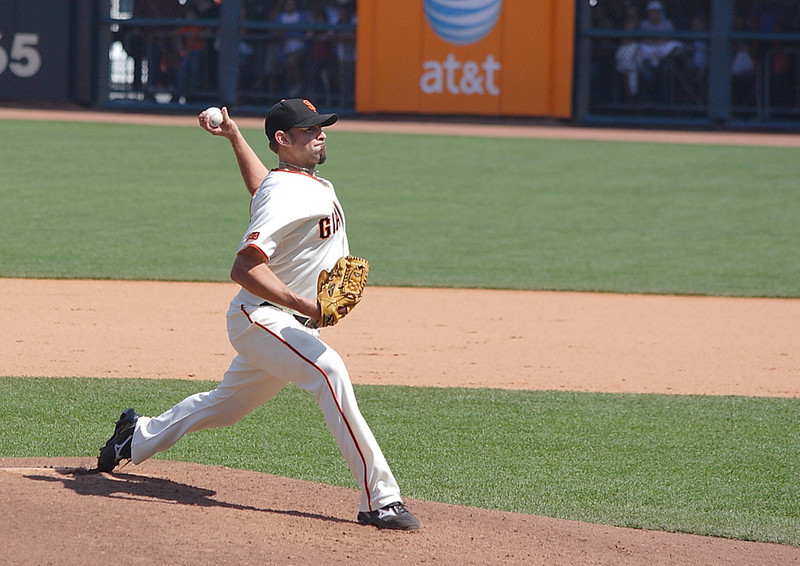 Jeremy Affeldt and his wicked curveball.