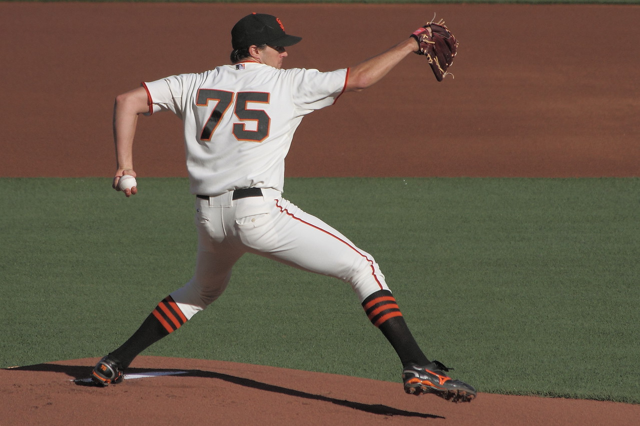 Barry Zito threw a 2-hitter against St. Louis and looked masterful on June 12,  2010.