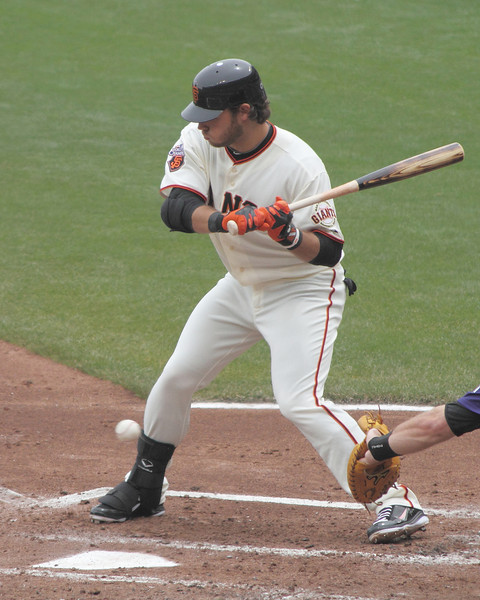 Crawford lets one go low against the Colorado Rockies on June 5, 2011.