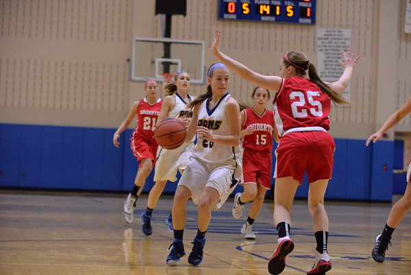 Springford Girls Basketball vSouderton