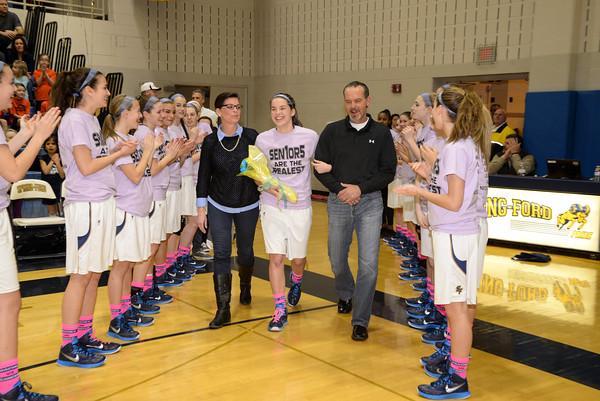 Springford Girls Basketball v Boyertown