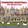 Stanwood Boys Basketball 2017 Poster