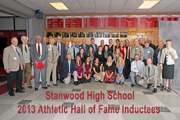 Inductees and Family