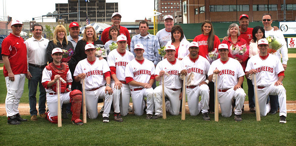 SHU BaseballSenior Day 2011
