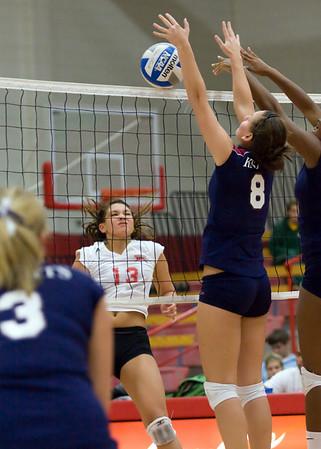 SHU Women's Volley Ball 10/22/09