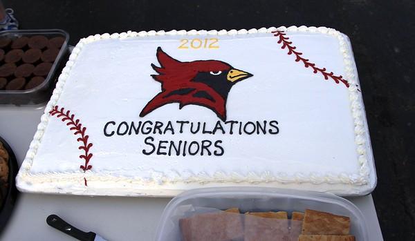 SJFC 2012 Baseball Senior Day