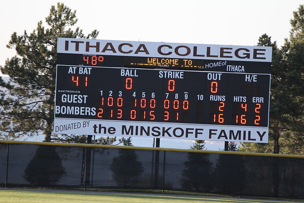 SJFC vs Ithaca 4-6-12 Game#1 Baseball