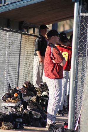 SJFC vs Mt Aloysius 3-5-12 Baseball Russ Matt