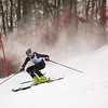 Record-Eagle/Jan-Michael Stump<br /> Traverse City Central's Chris Carefoot runs the slalom in the state finals Monday at Boyne Highlands.
