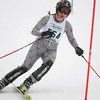 Record-Eagle/Jan-Michael Stump<br /> Traverse City West's Alison Friar runs the slalom in the state finals Monday at Boyne Highlands.