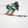 Record-Eagle/Jan-Michael Stump<br /> Traverse City West's Ryan Ness runs the giant slalom in the state finals Monday at Boyne Highlands.