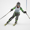 Record-Eagle/Jan-Michael Stump<br /> Traverse City West's Madi Lawton runs the slalom in the state finals Monday at Boyne Highlands.