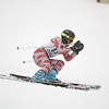 Record-Eagle/Jan-Michael Stump<br /> Traverse City Central's Mark Madion runs the giant slalom in the  state finals Monday at Boyne Highlands.