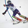 Record-Eagle/Jan-Michael Stump<br /> Traverse City West's Monica Hessler runs the slalom in the  state finals Monday at Boyne Highlands.