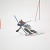 Record-Eagle/Jan-Michael Stump<br /> Traverse City Central's Mallory Weaver runs the slalom in the  state finals Monday at Boyne Highlands.