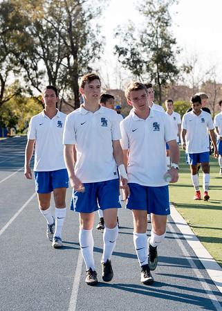 2016 - Boys Varsity Soccer vs Santa Barbara - CIF