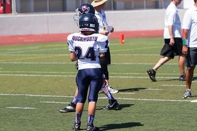 2014 SMPW Dukes vs Santa Clarita  Black Vikings Game 2