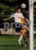SSHS #20  Senior Captain Ryan Portenoy attempts a goal. Photo by Kathy Leistner