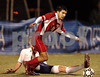 #11 Robert Rotkowitz VS South steps by #7 Ian Peach Southside. November 3, 2006 Class A Semi Final. Photo by Kathy Leistner.
