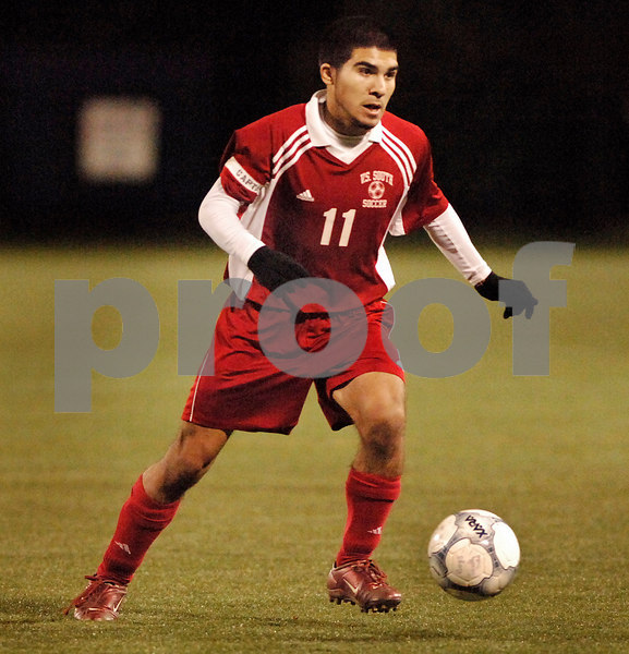 #11 Robert Rotkowitz, VS South. November 3, 2006 Class A Semi Final. Photo by Kathy Leistner.