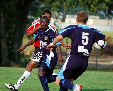 BATON ROUGE CAPITAL SOCCER 2009:  Capitals vs Mississippi Brilla.  Brilla wins on late goal.