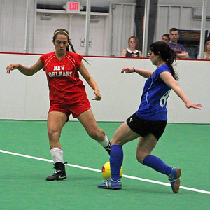 WIPSL-WOMEN'S INDOOR PROFESSIONAL SOCCER LEAGUE: NEW ORLEANS @ BATON ROUGE