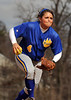 #4 Ashely Ainbinder, Baldwin HS, Pitcher. March 20th, 2009. Photo by Kathy Leistner