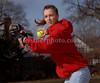 Lindsay Riso. Freeport Softball 2007. Photo by Kathy Leistner.