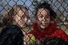 L-R Lindsay Riso and Melissa Herrara, Freeport Softball 2007. Photo by Kathy Leistner
