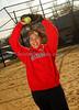 Melissa Herrara, Freeport Softball 2007. Photo by Kathy Leistner