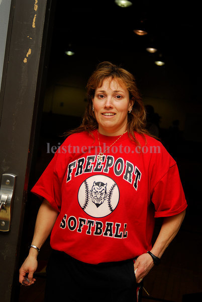 Chris Bivona, Freeport Softball 2007. Photo by Kathy Leistner