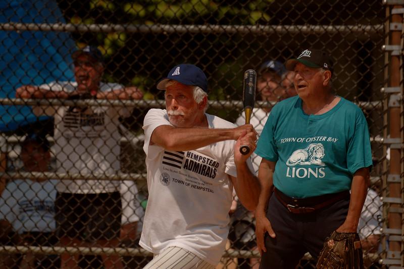 Pat DiPierri, Plainview at bat. Town of Hempstead Admirals. May 30th, 2007  Photo by Kathy Leistner.