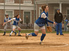 #26 VSCHS Guarneri and Meghan Walsh on 1st. Photo by Kathy Leistner.<br /> April 13th,, 2007.