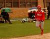 Home run for VSSHS #8 Alex Moran, 3rd baseman,  VSSHS vs Friends Academy, April 17th, 2007. Photo by Kathy Leistner