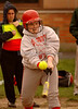 VSSHS #11 CF Joan Tobin at bat. VSSHS vs Friends, April 17th, 2007. Photo by Kathy Leistner