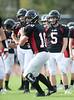 SJS Varsity Football vs St. John XXIII School Scrimmage